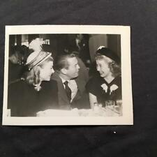Jane Powell Chester Morris CANDID Snapshot Original Movie Actor Photo A123