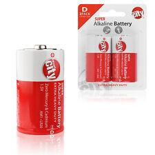 Circuit City D-Cell Enhanced Performance Alkaline Batteries (2 Pack)
