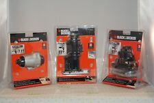 NEW 3 pc Attachment Set - Black & Decker MATRIX Impact Driver - Jigsaw - Sander