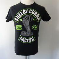 Carroll Shelby Cobra Racing 1962 T-Shirt Black Officially Licensed Mens Medium