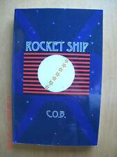 NEW Rocket Ship by C.o.b. (2014, Paperback) signed 1st ed. promotional copy