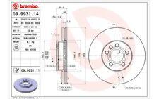 2x BREMBO Discos de freno delanteros Ventilado 300mm 09.9931.11