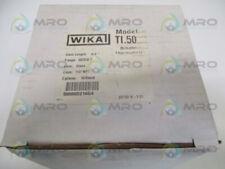 """WIKA TI.50 50060D216G4 BIMETAL THERMOMETER 50/550F STEM: 6"""" *NEW IN BOX*"""