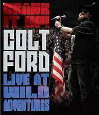 Colt Ford: Crank It Up Live at Wild Adventures (DVD, 2014) SEALED