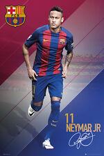 NEYMAR 2017 - BARCELONA POSTER - 24x36 FOOTBALL SOCCER FC 34174