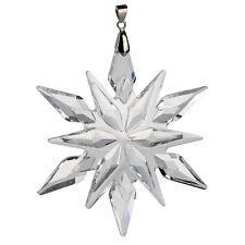 Clear Crystal Glass Star Little Snowflake Prisms Wedding Ornament Gifts Decor