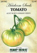 Tomato German Green - Vegetable Seeds - Ferry Morse - 200Mg