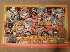 The Fantastic Mr Fox by Tyler Stout Regular Print Poster Bottleneck Sold Out