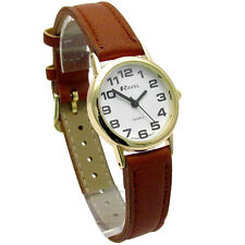 Ravel Ladies Easy Read Quartz Watch Brown Strap R0105.22.2