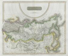 """Russian Empire"". Russia in Asia & Europe. Siberia. THOMSON 1830 old map"