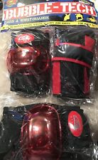 Nip Cx Sport Multi-sport Bubble Tech pads wrist guards Nip Ages 6+ Red
