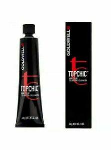 -GOLDWELL TOPCHIC TUBES 60ML - Permanent Hair Colour ALL SHADES