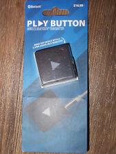 NEW Solaray Play Button Wireless Bluetooth Audio Transmitter-Works w/3.5mm Jacks