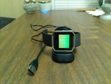 Fitbit blaze watch with charger
