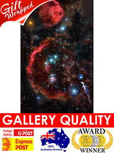 NEW Orion constellation, NASA Space, Hubble Telescope Giclee Art Print or Canvas