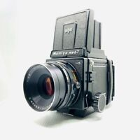 【NEAR MINT】MAMIYA RB67 Pro S + SEKOR C 127mm F3.8 + 120 Film Back From JAPAN 762