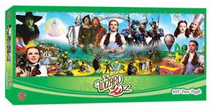 Wizard of Oz Panoramic 1000-Piece Jigsaw Puzzle