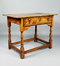 A fabulous early 18th century country side table.