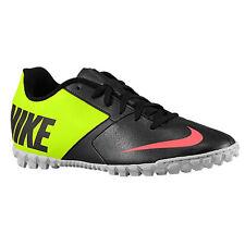 Nike Bomba II - Mens Indoor Soccer Shoes - Black/Hyper *New* US Size 9.5 -