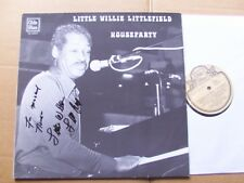 LITTLE WILLIE LITTLEFIELD,HOUSEPARTY lp vg+/vg+ olddie blues rec. OL8003 Holland