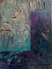 """*New Sale* Millie Gift Smith 18""""x24"""" Acrylic Abstract On Canvas $275.00"""