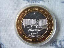 Silver Strike $10 Casino Gaming Token - Flamingo Hilton/Laughlin