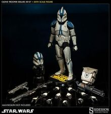 "501st DELUXE Clone Trooper 1/6 12"" Star Wars MIB Sideshow ROTS Sith Stormtrooper"