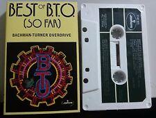 Bachman-Turner Overdrive - Best of (So Far) Cassette 1976 Mercury 7142503 Rock