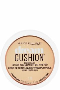 Maybelline New York Dream Cushion Fresh Face Liquid Foundation, U CHOOSE SHADE!