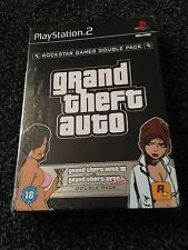 NUOVO e SIGILLATO GRAND THEFT AUTO III Doppio Pack & Vice City Playstation 2 ps2