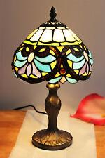 Tiffany Lampe Tischlampe Barock Dekolampe Stehleuchte Stehlampe Tiffanylampe NEU