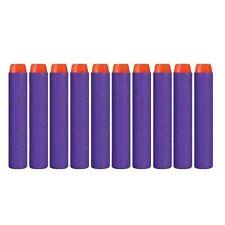 400PCS N-Strike  For NERF Toy Gun  Head  Children Bullet Darts Purple Round