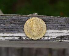 """Coin 1 3/8"""" Notre Dame De Paris Collection Nationale Medaille Officielle Monnaie"""