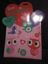 Tweet Valentines Day Cards Box of 32 Cards With Over 40 Stickers Set of 2