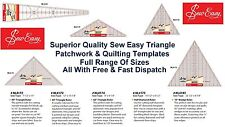 Sew Easy NL4172 Acrylic 90° Triangle Quilting Ruler 7½ X 15½in M/l Right Angle