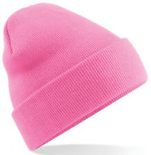 Classic Pink Beanie Hat, Free Postage, Ideal Gift/Present