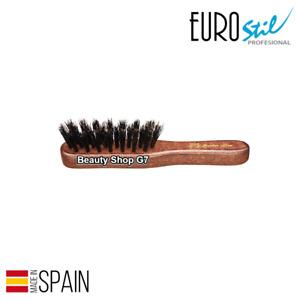 Beard Moustache Brush Eurostile Wooden Small Barber Line 06072