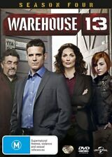 Warehouse 13 : Season 4 (DVD, 2014, 5-Disc Set)