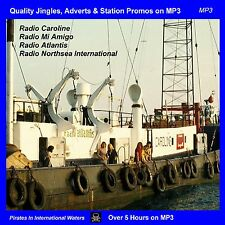 Pirate Radio Jingles Adverts & Station Promos from Radio Caroline, RNI Atlantis
