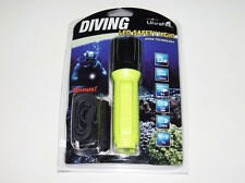 New UltraFire WF-3430 Cree T6 LED 800 lumens Diving Flashlight 50M ( Yellow )