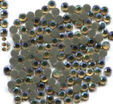 Rhinestones  AB GOLD   2mm ss6 Hot Fix 1 gross