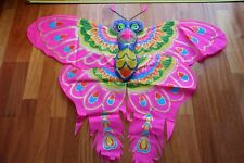 Cerf-volant chinois papillon rose 3D-Chinese kite-aquilone cinese-cometa china 3
