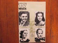 Nov-1976 Lancaster TV Maga(GONE WITH THE WIND/CLARK GABLE/JIM HENSON/JEANNE WOLF