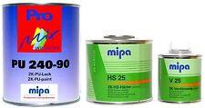 Mipa 2K-Lack VW/Audi (R603) Olivgrün, glänzend, 1,75 Liter Set, #MP11