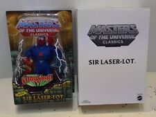 He-Man MOTU Classics Sir Laser-Lot Action Figure New Masters Of The Universe