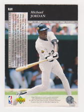 MICHAEL JORDAN BASEBALL WHITE SOX MJR1 1993 NEAR MINT