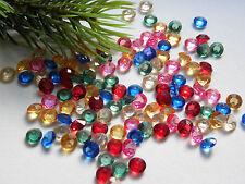 120 stk. Kristalle diamanten 7mm streuteile deko steine Hochzeit Feier*mix