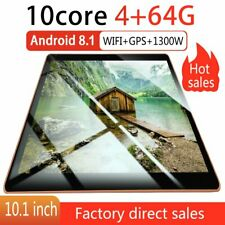 "10.1""Tablette Tactile 10 Pouces Android Ordinateur WiFi GPS 8 core 4GB+64GB PC"