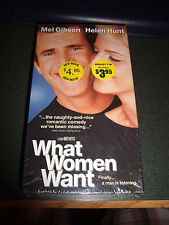 What Women Want (VHS, 2001) - Brand New!!!!