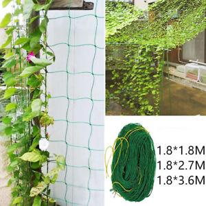 Plant Trellis Netting Garden Nylon Mesh Fence Climbing Bean Cucumber Support Net